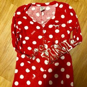 VS PINK onesie pajamas